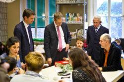 Regierender Bürgermeister Michael Müller zu Besuch in der Zeune-Schule