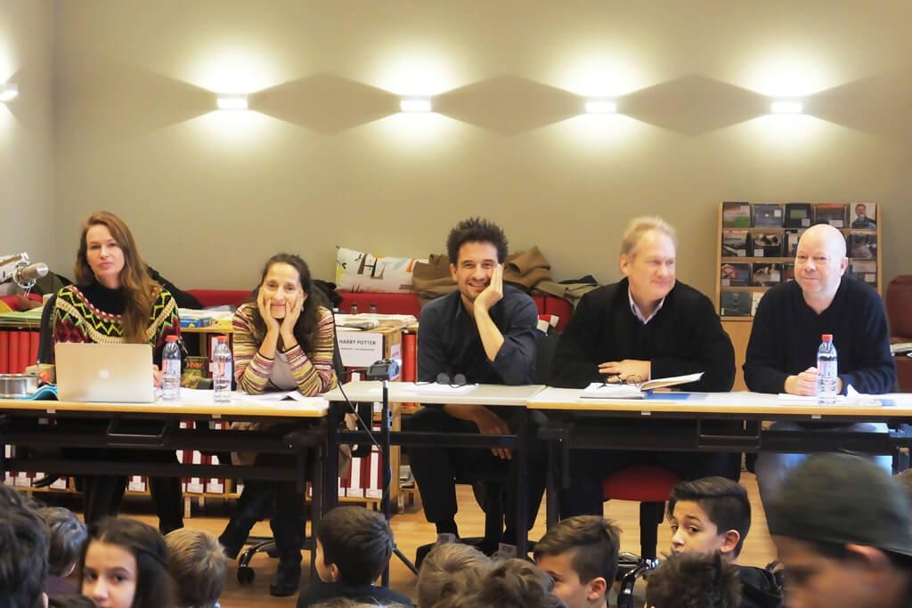 """Schauspieler lesen in der Zeune-Schule die Geschichte """"Anton"""" vor"""