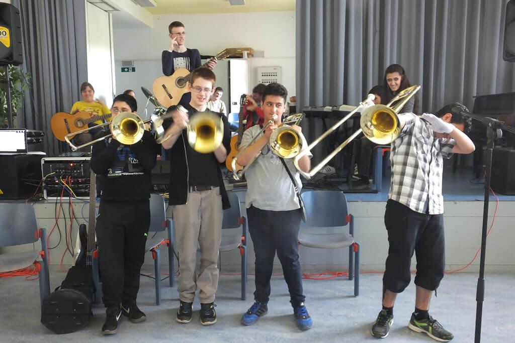 Zeunes Big Band mit neuer Posaune