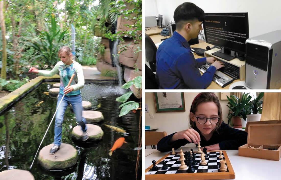 Fortbildungen für blinde und sehbehinderte Menschen 2019 2020